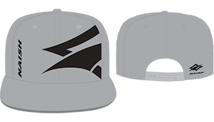 Flatbill Canvas Embroidery Hat - Grey/Black picture