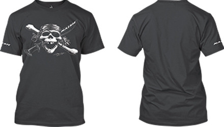Pirate Tee - Charcoal - M picture