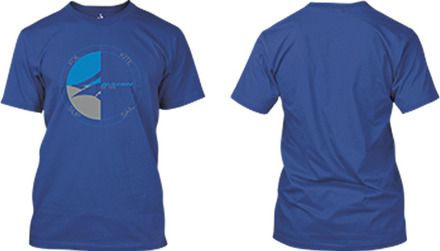 Circle Tee - Deep Royal - S picture