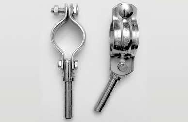 Oar Locks Metal - PAIR
