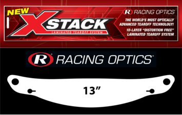 10214C - 2 mil Laminated Tearoffs XStack™ 10 (Clear) picture