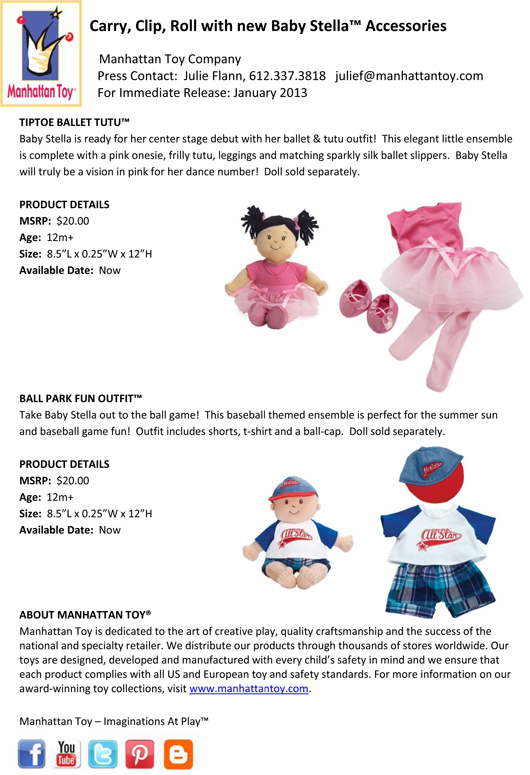 Carry, Clip, Roll with new Baby Stella™ Accessories pg 3