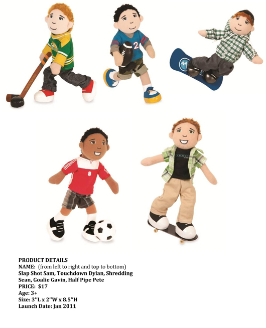 Manhattan Toy® Introduces New Action Figure Collection: Boysterous™ pg 2