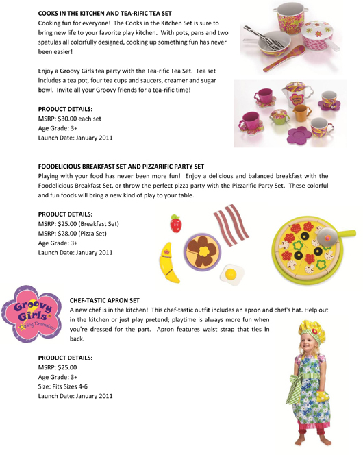 Groovy Girls® has Never Looked this Good! Manhattan Toy® Expands the Groovy Girls Collection pg 2
