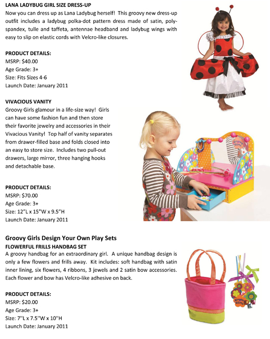 Groovy Girls® has Never Looked this Good! Manhattan Toy® Expands the Groovy Girls Collection pg 3