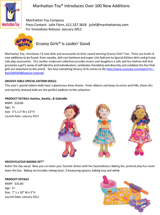 Manhattan Toy® Introduces Over 100 New Additions pg 3