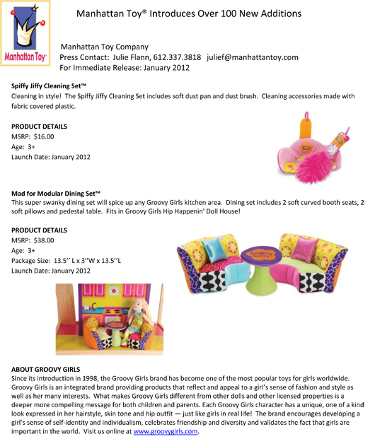 Manhattan Toy® Introduces Over 100 New Additions pg 4