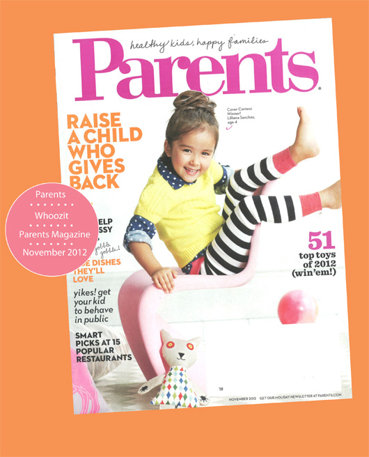 Parents Magazine November 2012 Issuepg 1