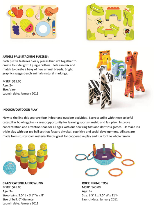 Manhattan Toy® Welcomes Twenty New Educational and Playful Parents® Toys to 2011 pg 3