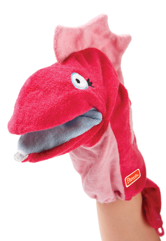 Silly Squirt Bath Pal Pink Seahorse
