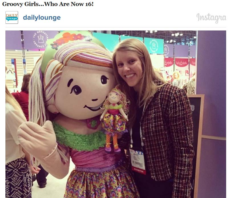 Lakinzie at Toy Fair