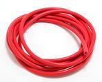 VACUUM HOSE (silicone); RED: 3MM Diameter- 10ft. Roll