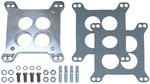 Carburetor Adapter; Lrg. Rochester Carb to Sml. Roch/Holley/AFB Mani.-Cast Alum.
