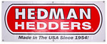Hedman Hedders Fabric Display Banner- 2ft. x 5ft