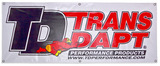 Trans-Dapt Performance Products Fabric Display Banner- 2ft. x 5ft.