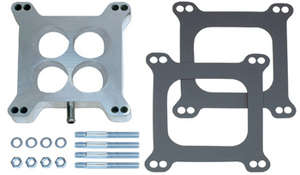 """1"""" Tall, HOLLEY/AFB 4BBL SPACER -Ported- CAST Carburetor Spacer picture"""