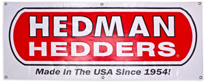 Hedman Hedders Fabric Display Banner- 2ft. x 5ft picture
