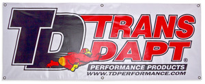 Trans-Dapt Performance Products Fabric Display Banner- 2ft. x 5ft. picture