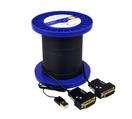 ct fiber optic dvi cable 100'