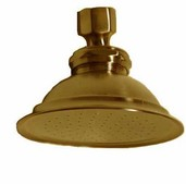 SUPERCOAT BRASS SHOWER HEAD