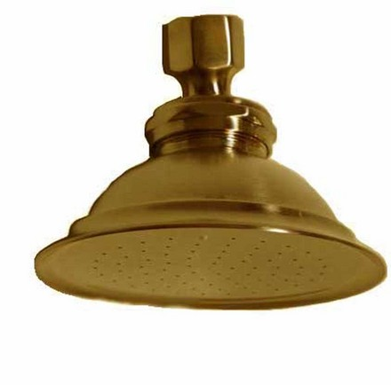 SUPERCOAT BRASS SHOWER HEAD picture