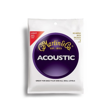 Martin Acoustic 80/20 Bronze 3 Pack picture