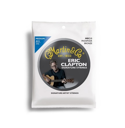 Eric Clapton Signature Strings 92/8 Phosphor Bronze Medium picture