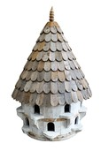 Large half round Birdhouse (small hole)