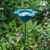 Petal Bird Feeder (Blue)