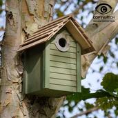 New England Nest Box Green