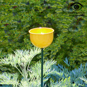 Bird Cup Feeder (Yellow)