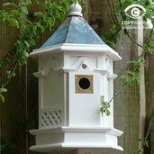 White Gothic Nestbox