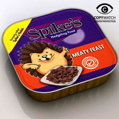 Spikes Meaty Feast Hedgehog Food 100g