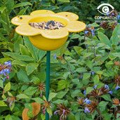 Petal Bird Feeder (Yellow)