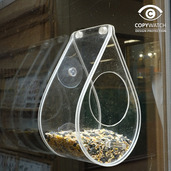 Dewdrop Wildbird Window Feeder