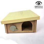 DIY Hedgehog House (Flat Pack)