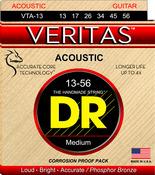 DR Strings VTA-13 VERITAS™ Acoustic Guitar String 13-56