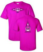 "Iron Cross Pink ""Breast Cancer""  T-Shirt"