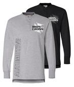 Iron Cross Henley Shirt