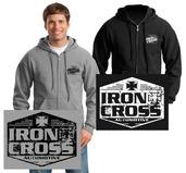 Iron Cross Full Zip Hoodies