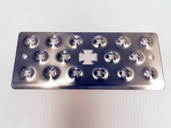 Single Heavy Duty Replacement Step Plate