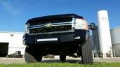 40-525-07 - 2007-2010 SILVERADO HD (2500/3500) HD Low Profile Front Bumper