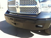 30-615-09 RS Series Bumper for 2009-2012 Ram 1500(Will not fit Expess or Sport Models)**LIGHTS SOLD