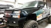 03-06 SILVERADO 2500/3500 LOW PROFILE BUMPER GLOSS BLACK