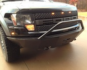 20-415-RAP - 09-13 FORD RAPTOR FRONT BASE BUMPER(Picture shown is with bar)