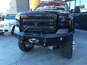 2015 GMC HD FRONT BUMPER WITH PUSH BAR