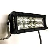 20-75LED 7.5 INCH LED LIGHT BAR - MOUNTS IN HD BUMPER WINCH OPENING