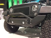 07-15 Jeep JK FULL SIZE FRONT BUMPER WITH BAR