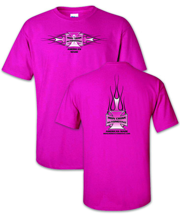 "Iron Cross Pink ""Breast Cancer""  T-Shirt picture"