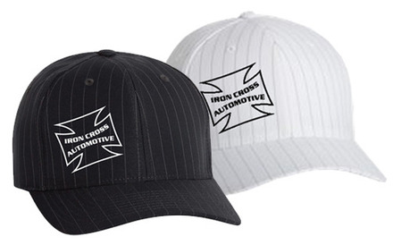 Iron Cross Pinstripe Flex Fit  Hat picture